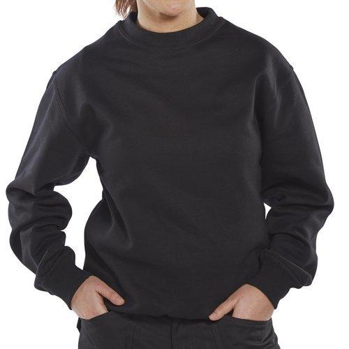 Click CPPCSBL3XL Premium Sweatshirt Black 3XL