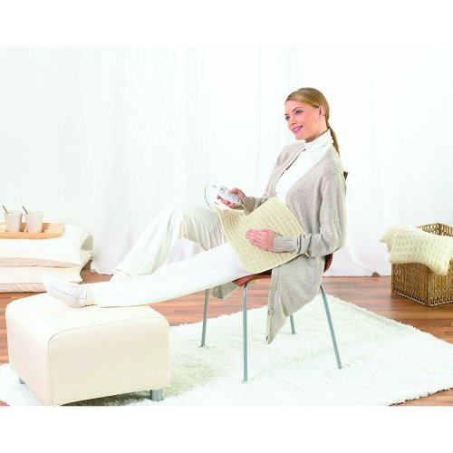 Beurer Cosy Luxury Electronic Heating Pad¦3 Illuminated Temperature Setting¦100W