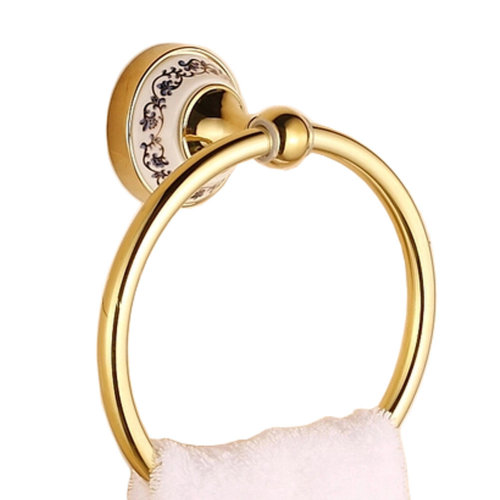 Exquisite Oil Rubbed Bronze Towel Bar Towel Rings Towel Holder, B