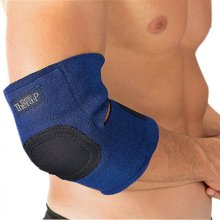 HoMedics Magnetic Hot & Cold Therapy Wrap Gel Sprain, Strain Support for Elbow