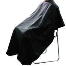 Black Hairdressers' Gown | Adjustable Salon Cape