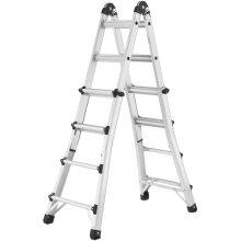 Hailo Extending Ladder MTL 123 cm Aluminium 7516-701