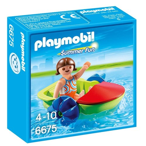 Playmobil 6675 Children's Paddle Boat