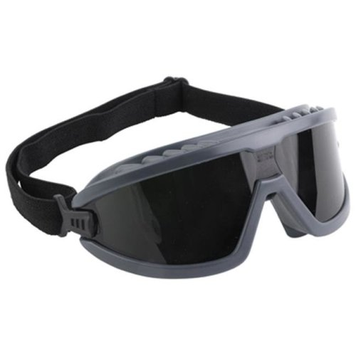 Aetna Glass 210037 4 in. Green Safety IR5 Lens Brazing Goggles, Black