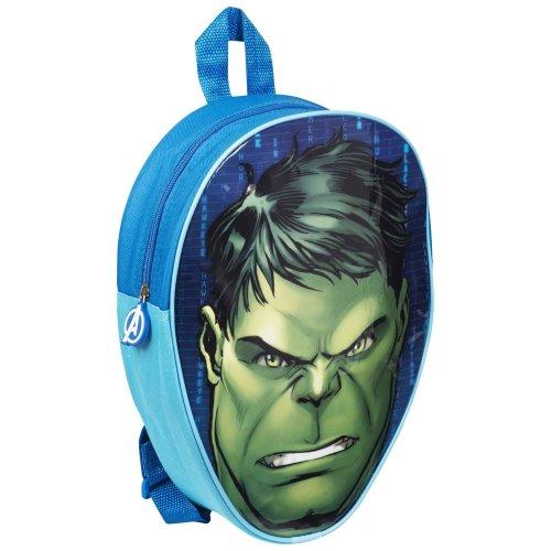 Marvel Kids' Hulk Zip-Up Backpack