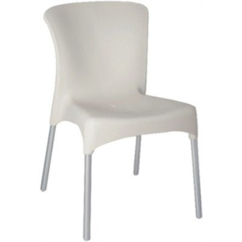 Cheryl White Indoor or Outdoor Stackable Chair / Pack of 4