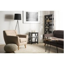 Side Table Black FOSTER