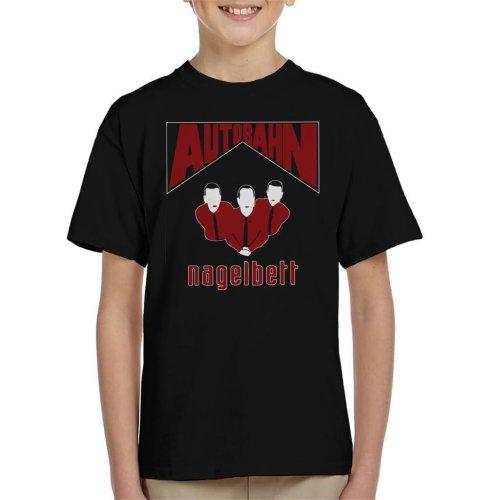 Autobahn Nagelbert Album Cover Big Lebowski Kid's T-Shirt