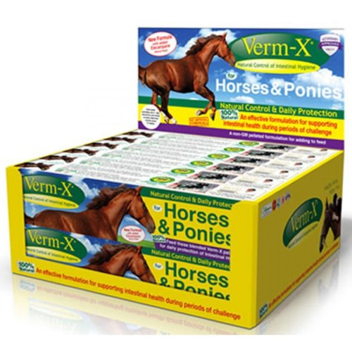 Verm-x Pellets For Horses Promotional Pack 2x250g
