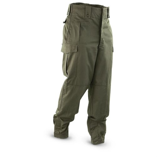 Belgian Army BDU Combat Trousers 7 Pockets