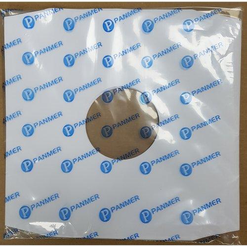 "12"" White Paper Record Inner Sleeves x 100"