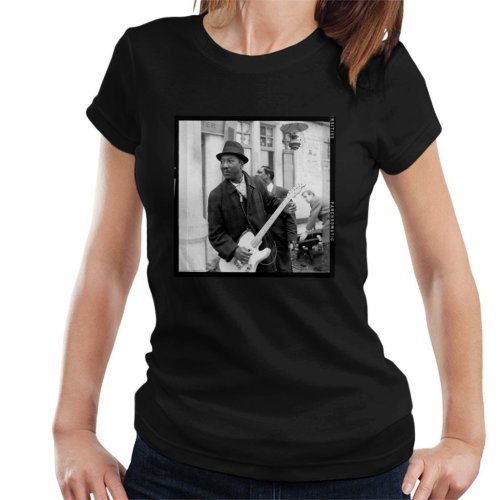 TV Times Muddy Waters Blues And Gospel Train 1964 Women's T-Shirt
