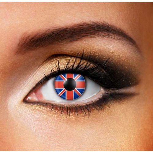 Union Jack Flag Contact Lenses - Coloured Contact Lenses
