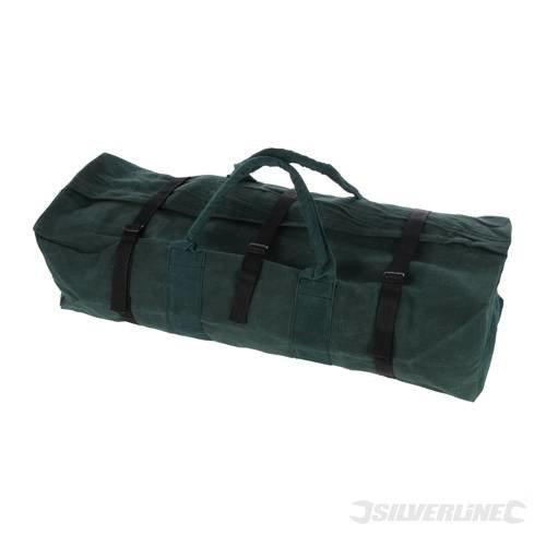 Silverline Canvas Tool Bag Large 760 x 430 x 215mm - 760mm Storage Tb56 -  tool canvas bag x large silverline 760 430 215mm 760mm storage tb56