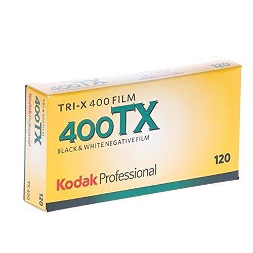 kodak 115 3659 Tri X 400 Professional 120 Black and White Film 5 Roll Propack