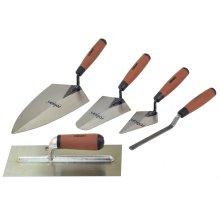 5 Piece Tradesman Trowel Set -  rolson trowel tradesman set 5 52489 pieces