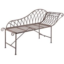 Esschert Design Chaise Longue Metal Old English Style MF016