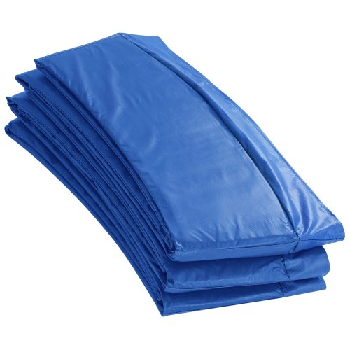 """Upper Bounce Super Trampoline Replacement Safety Pad (Spring Cover) for 12 FT. Round Frames - 10"""" wide - Blue"""