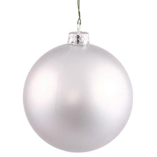 Vickerman N590726DG Plum Glitter Drilled Ball Ornament - 2.75 in. - 12 per Bag
