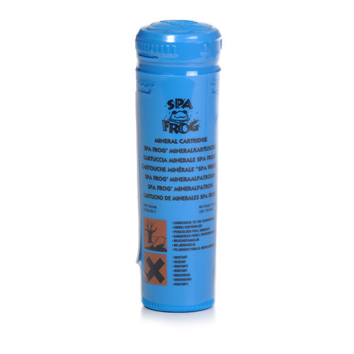 Spa Frog Mineral Cartridge Dosing System - Replacement Mineral Cartridge - Blue
