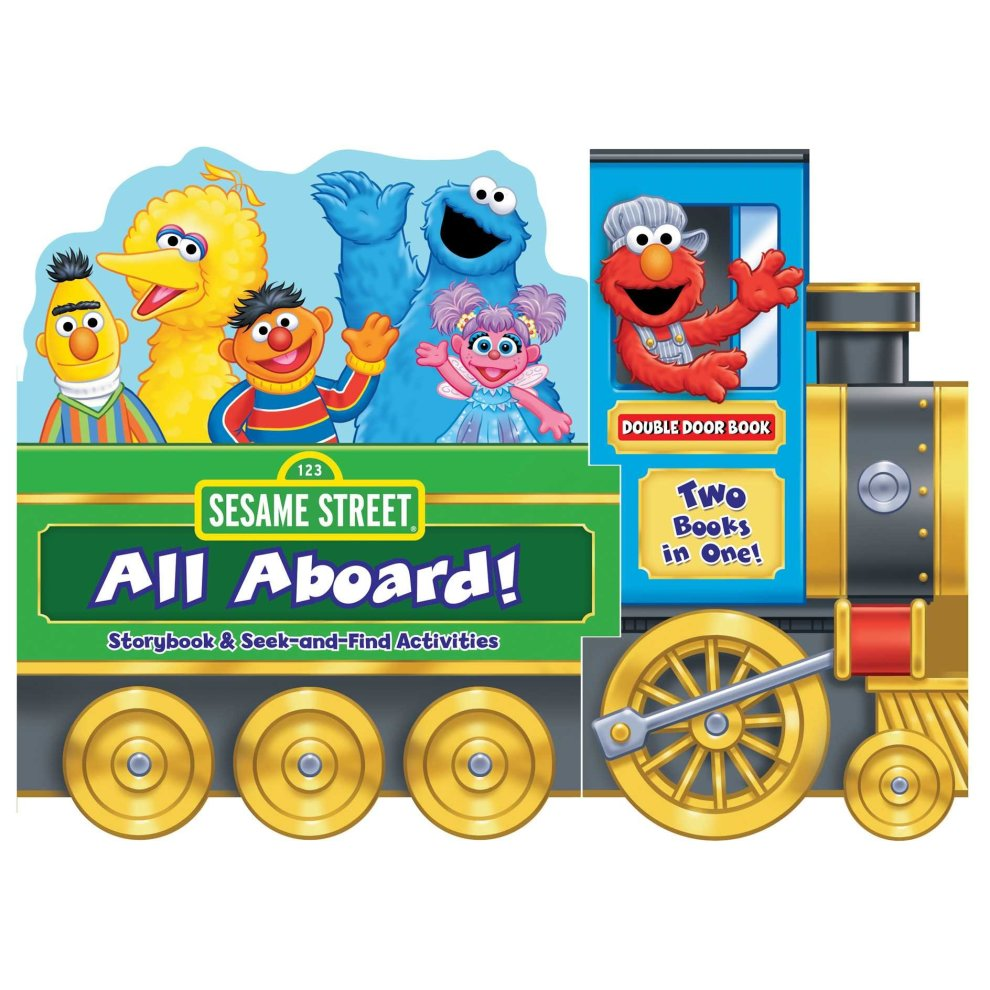 Sesame Street: All Aboard!: Storybook & Seek-And-Find Activities