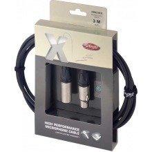 Stagg Xmc Xlr Microphone Cable (3m/10ft, Black) - Xmc3xx