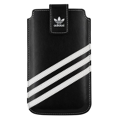 adidas iPhone 5 5s 5c SE Ultra Slim Thin Sleeve Pouch Cover Black Blue White