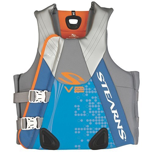 Stearns Womens V2 Series Abstract Wave Neoprene PFD Vest Large