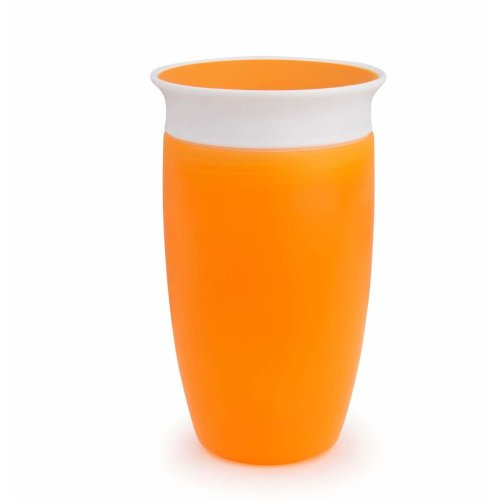 Munchkin Miracle 360 Degree Sippy Cup, 10 oz/296 ml, Orange