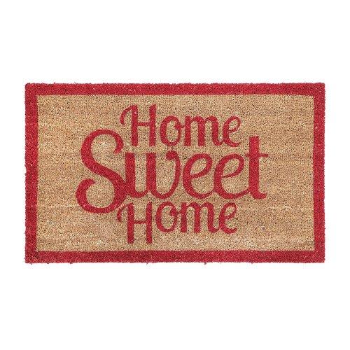 """""""Home Sweet Home"""" Coir Doormat"""