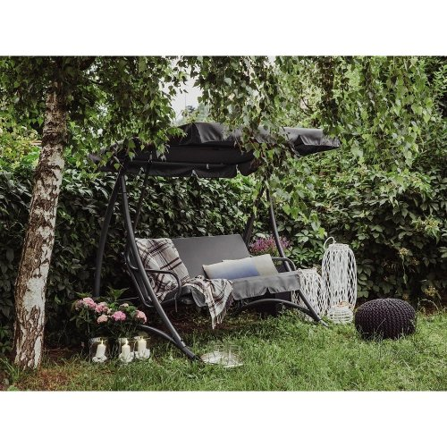 Garden Furniture - Outdoor Furniture - Garden Swing - Swing Seat - 3 Seater -   - TEMPLE