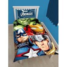 Marvel Avengers Tech Single Duvet Cover Set Polycotton