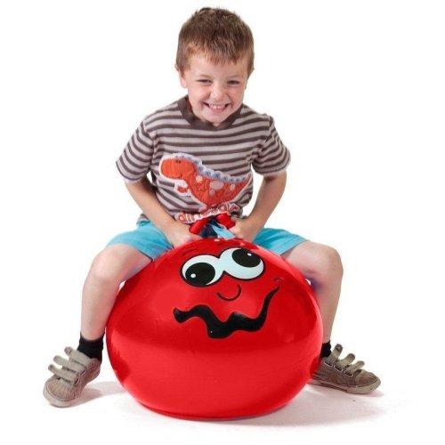 Red Junior Space Hopper - Fun Childrens Gift Idea Girls Boys