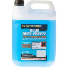 Silverhook SHB4 Ready Mixed Antifreeze, 4.54 Liter, Blue
