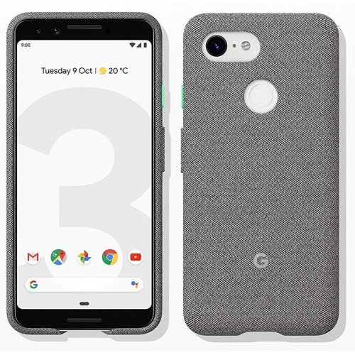 Official Google Pixel 3 Fabric Case - Fog