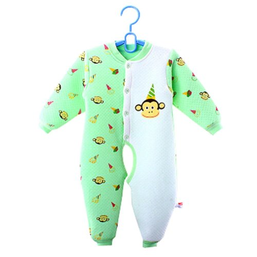 Baby Suit Clothing Long-Sleeved Cotton Baby Crawl Sports Open Fork Cotton E