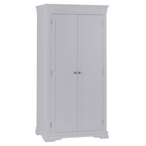 Maison Grey Painted Furniture Full Hanging Wardrobe