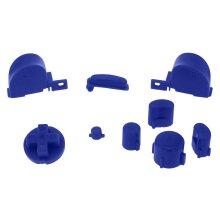 Button set for GameCube Nintendo controller mod kit replacement ZedLabz – blue