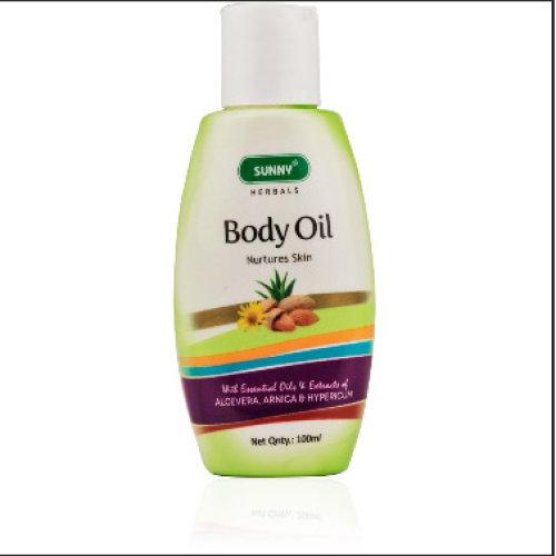 2 Pack Bakson's Sunny Herbals Body Oil 100ml each