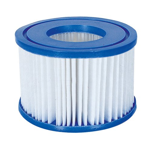 10 Pack Bestway 58323 Lay-Z-Spa Filter Cartridge, Size VI 10.6cm x 8cm