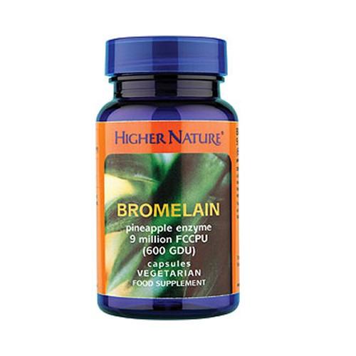Higher Nature Bromelain 90 Capsules