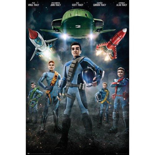 Thunderbirds Are Go Group Maxi Poster
