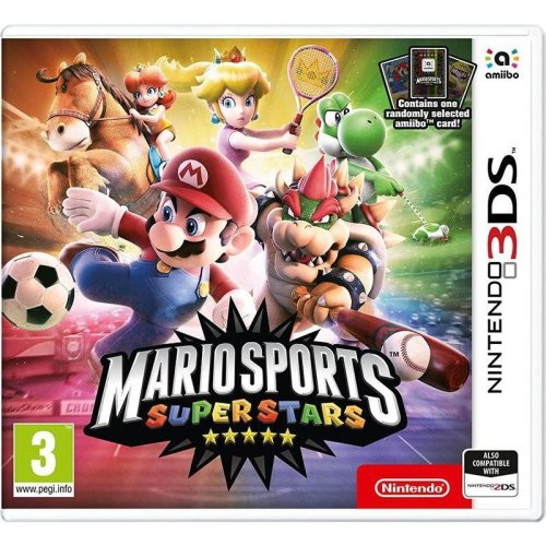 Mario Sports Superstars with Amiibo Card Nintendo 3DS Game