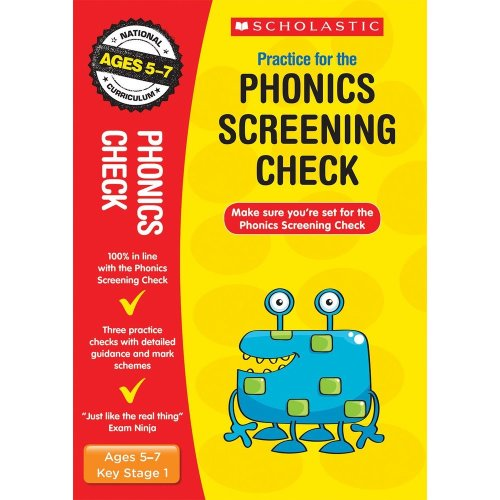 2019 Phonics Screening Check Practice Papers (Scholastic National Curriculum SATs) (National Curriculum SATs Tests)