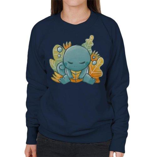 Pokemon Sleeping Squirtle Women's Sweatshirt
