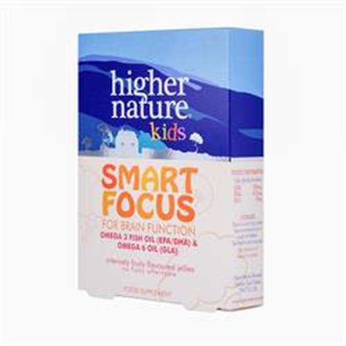 Higher Nature Smart Focus (kids) 27 Caps
