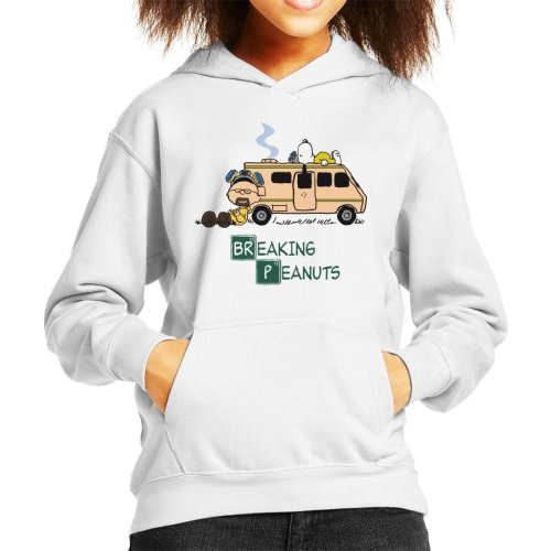 Breaking Bad Peanuts RV Kid's Hooded Sweatshirt