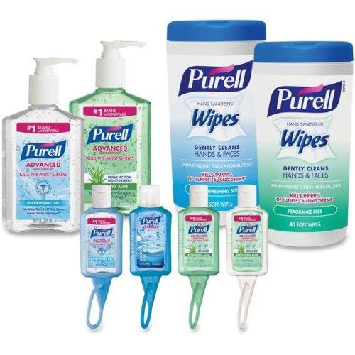 Gojo GOJ9120K1EC Purell On-the-go Sanitizer Kit, White