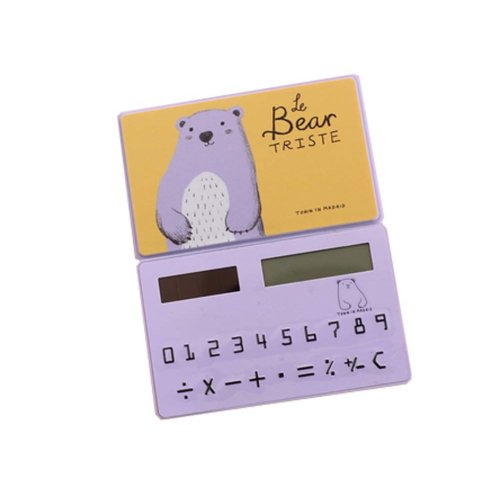 Ultra - thin Cute Mini Office Student Portable Calculator/Kids toys,A2