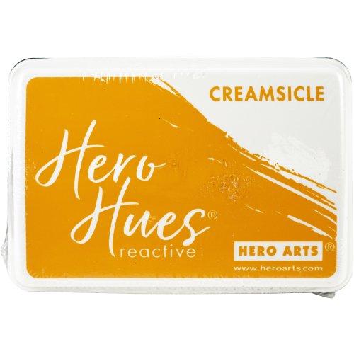 Hero Hues Reactive Ink Pad-Creamsicle